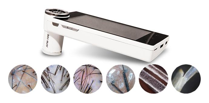 Аппарат для диагностики волос (трихоскоп)