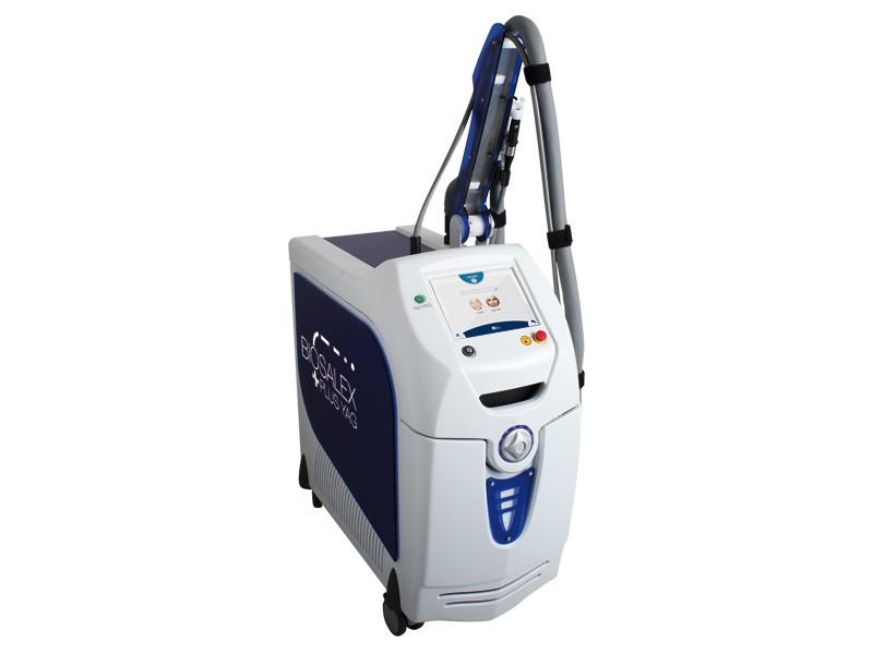 BiosAlex – 2 в 1  александрит + неодимовый лазер