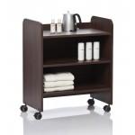 Wellness Kabinett - деревянный столик с тумбой