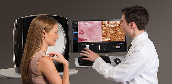 Аппараты для диагностики кожи лица